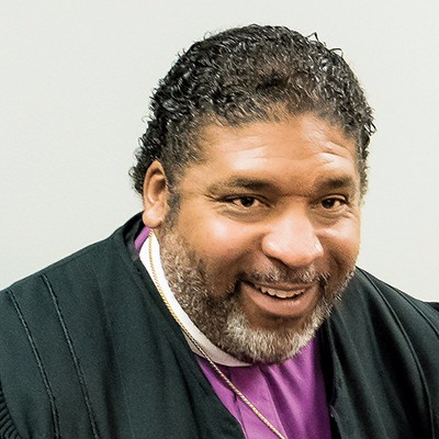 A smiling William Barber