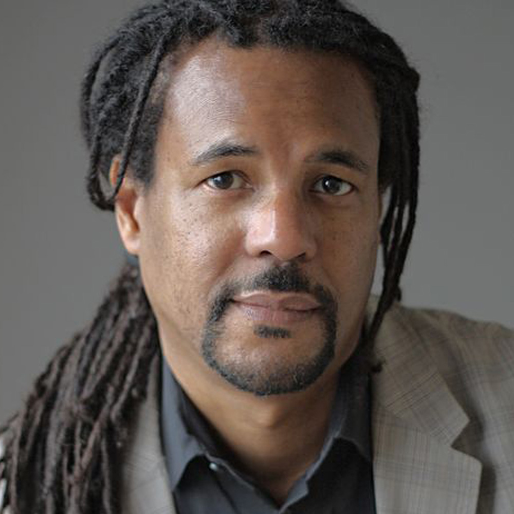 The smiling face of Colson Whitehead