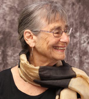 Smiling face of Alicia Ostriker