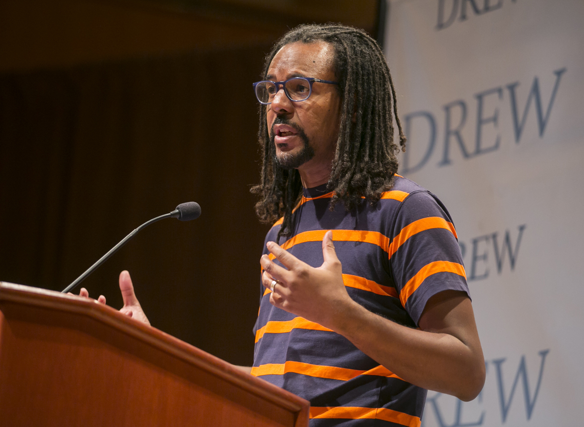 Colson Whitehead speaking at The Concert Hall