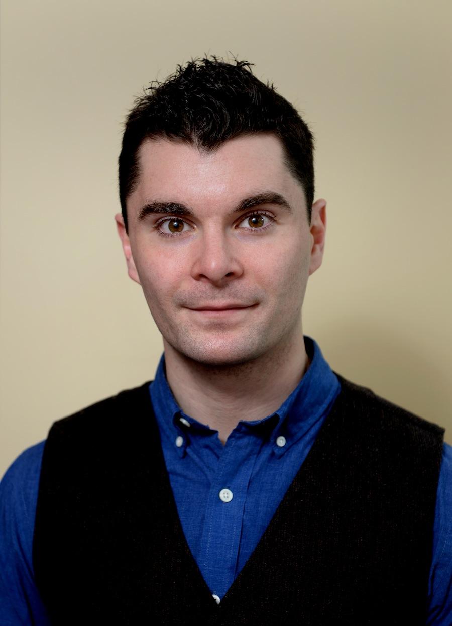Smiling face of Patrick Mahoney