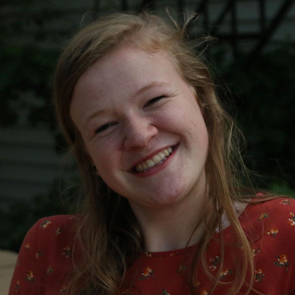 Smiling face of Lydia Horner